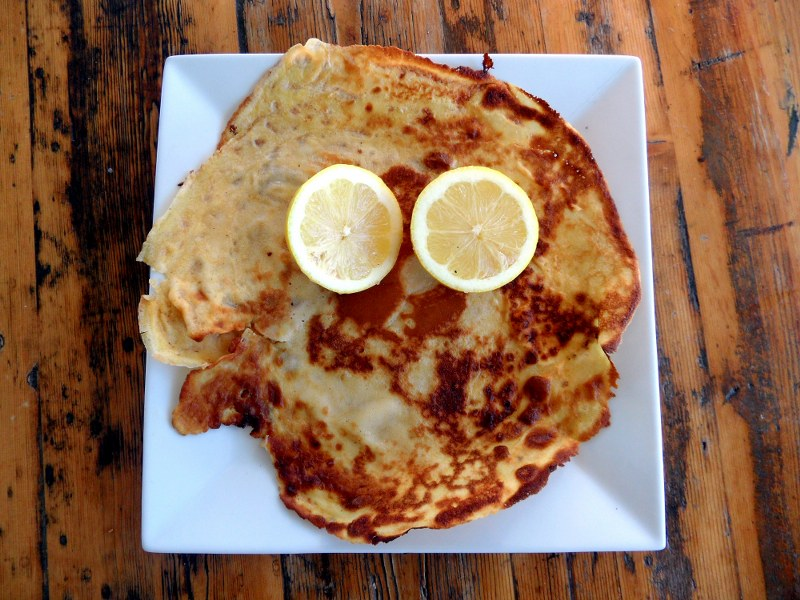 Crepes – Yum!  Just like mum used to make