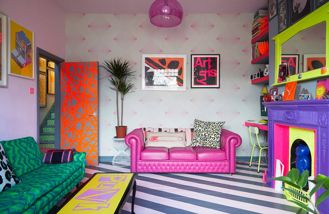 Quirky Indeed!  Gorgeous, Colourful interiors